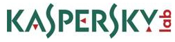 Kaspersky Showcases Cyberthreat Map