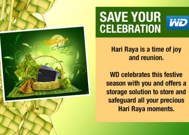 WD Shares The Joy Of Hari Raya With Consumers