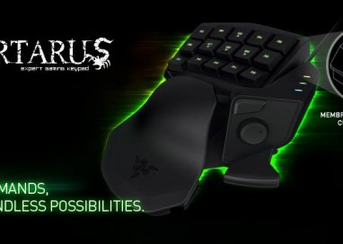 Razer Unveils Razer Tartarus Membrane Gaming Keypad