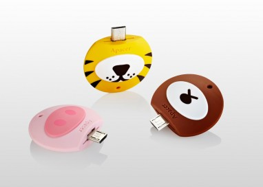 "Apacer Rolls Out ""Q Zoo"" AH171 Mobile Flash Drive"