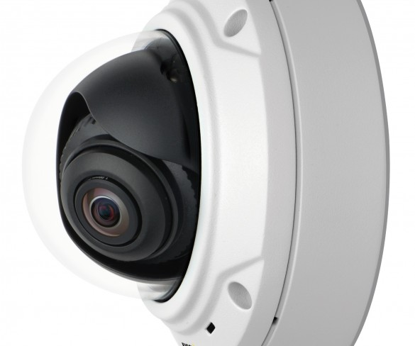 Axis Adds 3-megapixel/HDTV Model To Its Outdoor, Day/night Fixed Mini Dome Offerings