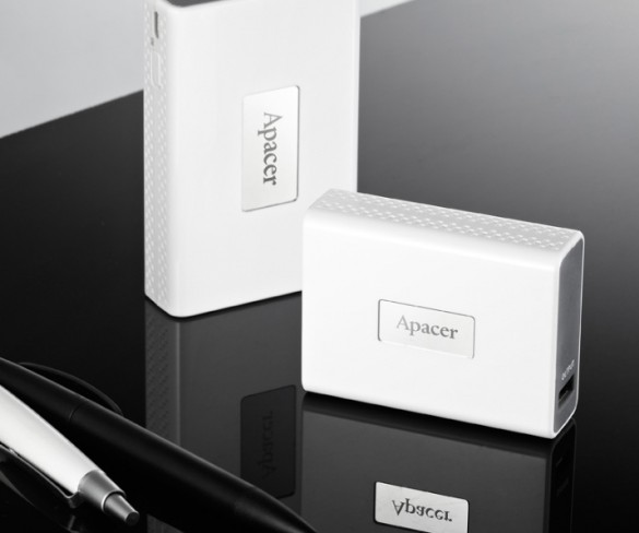 Apacer Intros Two New Power Banks