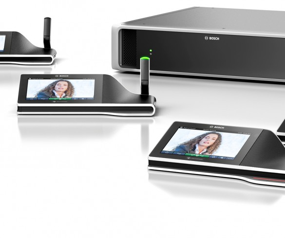 Bosch Revolutionizes Conferencing With IP-based Solution, DCN Multimedia