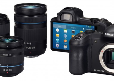 Samsung Launches GALAXY NX Camera
