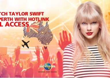 Catch Taylor Swift in Perth with Hotlink All Access