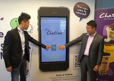 WeChat Forges Partnership with Chatime