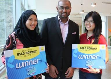 Farah, Gwen Yi to Represent Malaysia at Telenor Youth Summit 2013