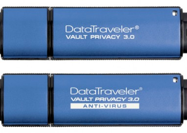 Kingston Ships DataTraveler Vault Privacy 3.0