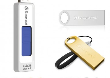 Transcend Launches 64GB Flash Drives
