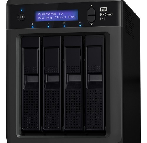 WD Launches My Cloud EX4 NAS