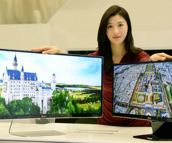 LG Unveiling World Largest 21:9 Monitor