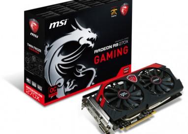 MSI Ups Its R9 270X Gaming to 4GB