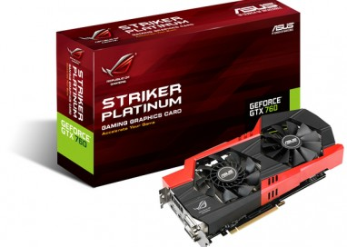 ASUS ROG Announces Striker GTX 760 Platinum
