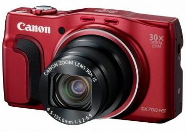 Canon Launches 5 New Compact Cameras