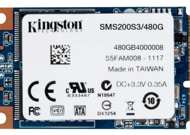 Kingston Ups mSATA Drive Capacity
