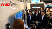 Samsung unveiled World's First Curved UHD TV