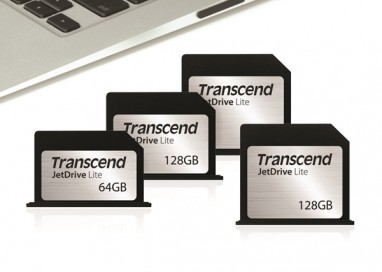 Transcend Unveils JetDrive Lite Expansion Cards