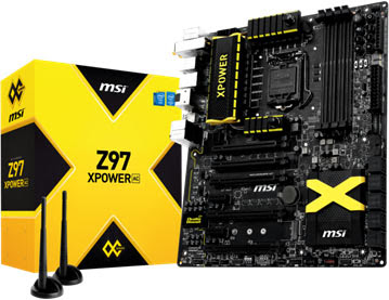 MSI Launches Z97 Motherboard