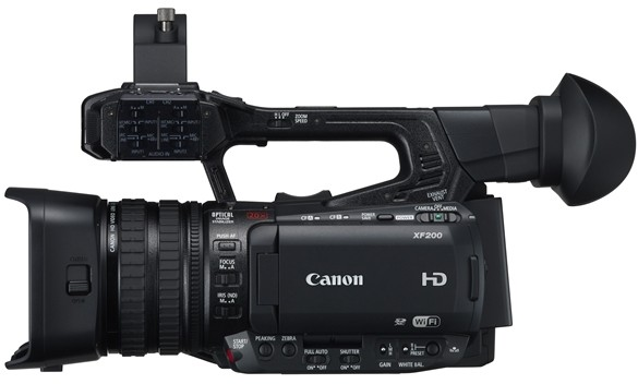 Canon Launches XF205 and XF200