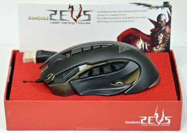 Review: GAMDIAS ZEUS Laser eSports Gaming Mouse GMS1100