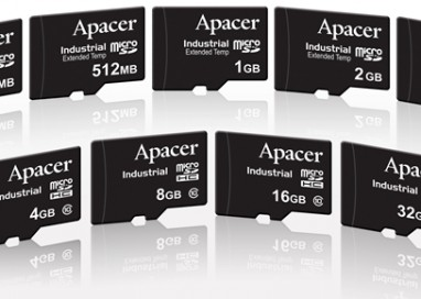 Apacer Unveils Industrial Micro SD/SDHC