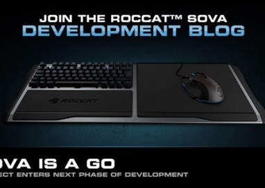 ROCCAT Sova Wireless Modular Gaming Board