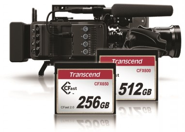 Transcend Unveils Latest Memory Cards