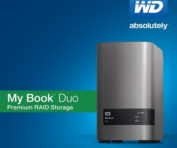 WD Introduces My Book Duo