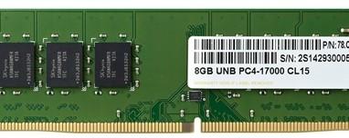 Apacer Unveils DDR4 2133 U-DIMM
