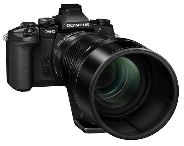Olympus Unveils Telephoto Zoom Lens