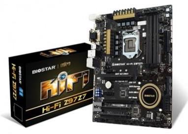 Biostar Launches Hi-Fi Z97Z7