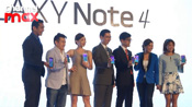Samsung launches GALAXY Note 4