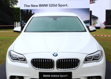 BMW Malaysia introduces the New BMW 520d Sport