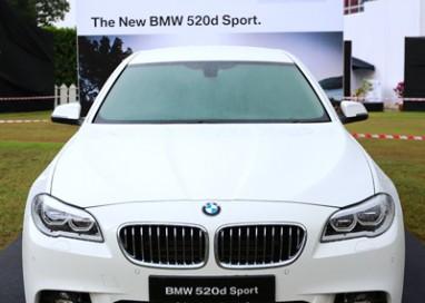 BMW Malaysia introduces the New BMW 520d Sport