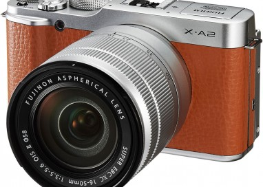 Fujifilm X-A2 – new entry-level mirrorless digital compact system for better selfies