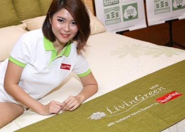Slumberland's LivinGreen Mattress