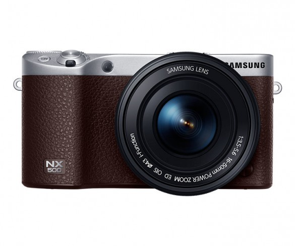 Samsung NX500 – Retro in looks, but lots of the same technology from the NX1
