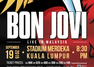 Jon Bon Jovi is coming to Malaysia!
