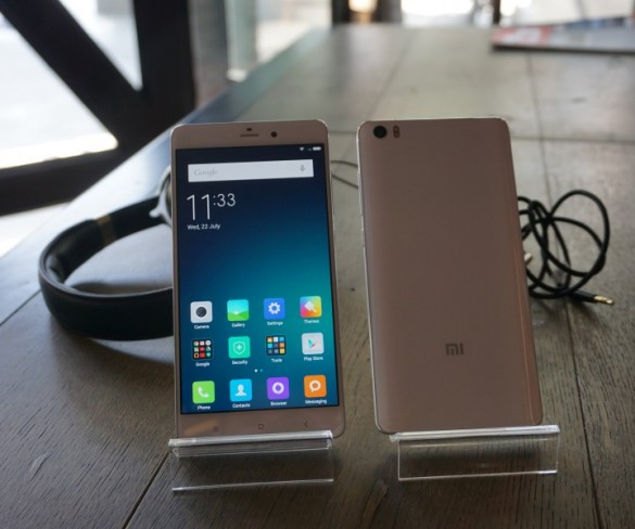 Xiaomi's Mi Note is here
