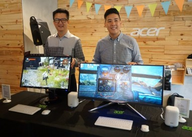 Acer launches new monitors and a mini PC too