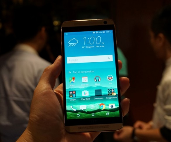 HTC's midrange One E9+ phone offers 5.5-inch QHD screen, 20-MP snapper and more for RM1899
