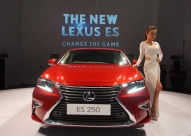 Luxury gets taken up a notch with Lexus' new ES series