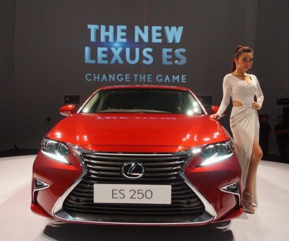 Luxury gets taken up a notch with Lexus' new ES series