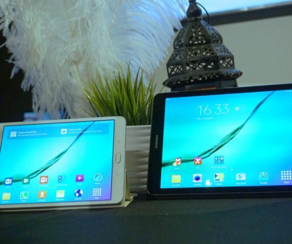 Samsung showcases new Galaxy Tab S2 tablets