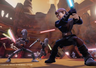 Star Wars joins forces with Disney, Disney•Pixar and Marvel in the All-New Disney Infinity 3.0