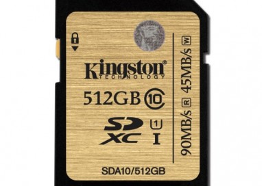 Kingston releases 512GB Class 10 UHS-I SDHC/SDXC Card