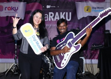 DIGI and RAKU to Rock Merdeka with negaRAKU@HardRockCafe Tour