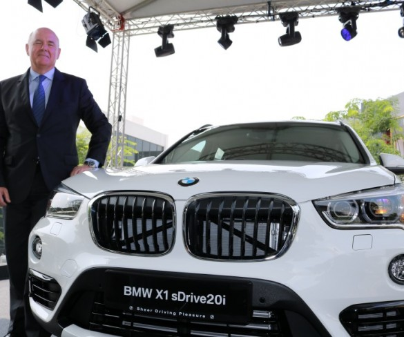 BMW's powerful new ConnectedDrive suite on new X1 SAV looks the business