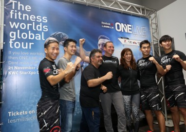 Malaysia hosts the first and only Reebok Les Mills ONE LIVE event in South East Asia