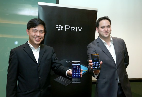 Releasing PRIV, BlackBerry's First Powered by Android Secure Smartphone in Malaysia
